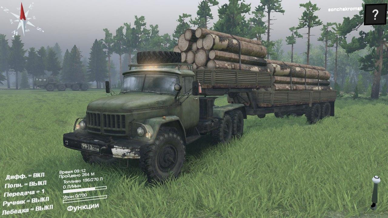 ЗиЛ-137 для Spintires - Скриншот 1