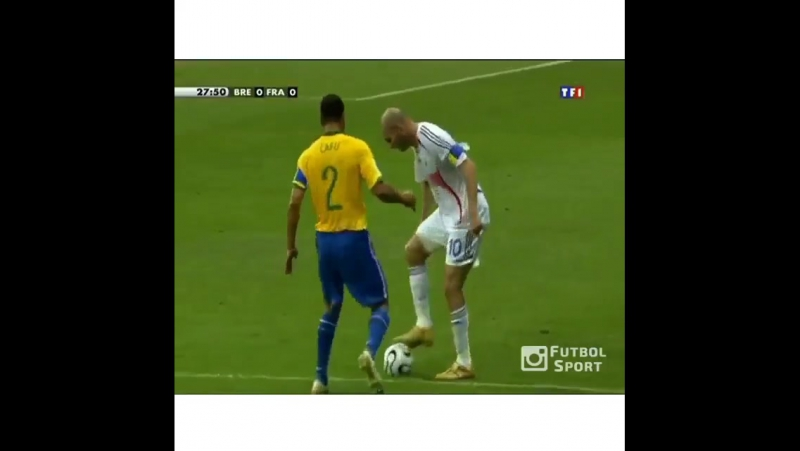 Zidane vs Brazil