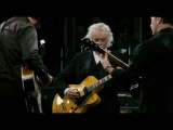 Jimmy Page,Jack White and The Edge playing ,,In my time of dying