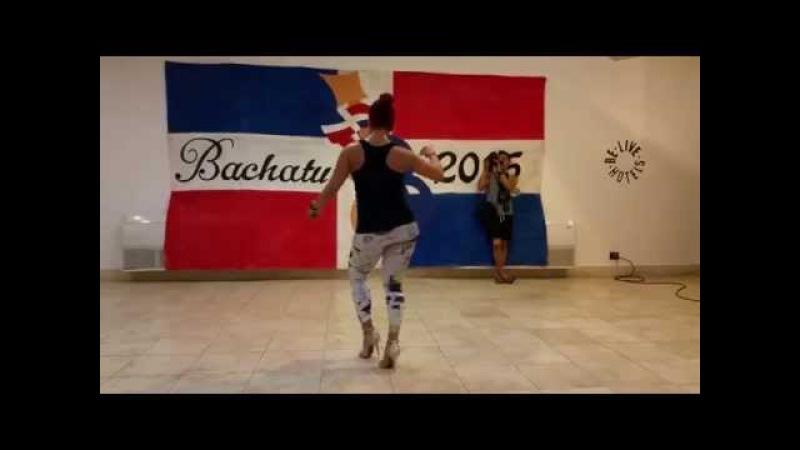 Jorjet Alcocer at BachaTu 2015 Bachata Footwork
