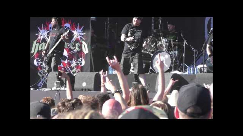 Hatebreed LIVE Tear It Down To The Threshold - Nijmegen, Netherlands - 2015-06-06