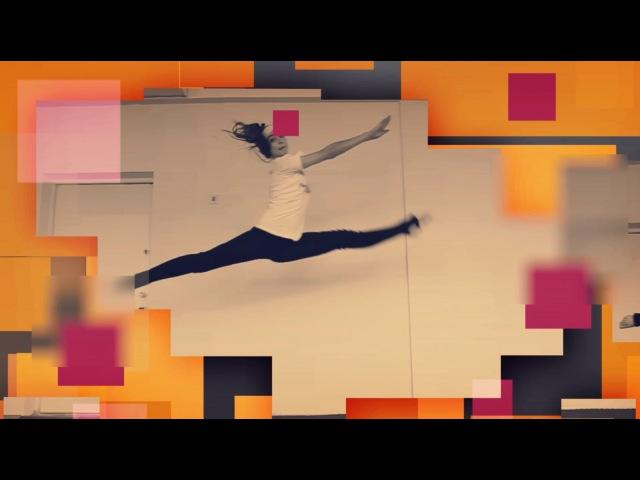 Как научиться делать шпагат в воздухе Гранд Жете Grand jete Танцы Онлайн с Кристиной Мацкевич