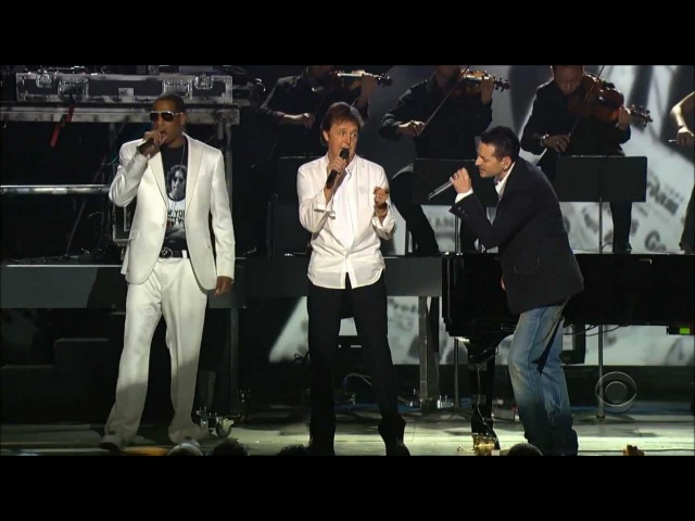 Linkin Park, Jay-Z, Paul McCartney - Numb/ Encore/ Yesterday (48th Grammys, 2006) (Live)