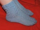 Вязание спицами. Носочки