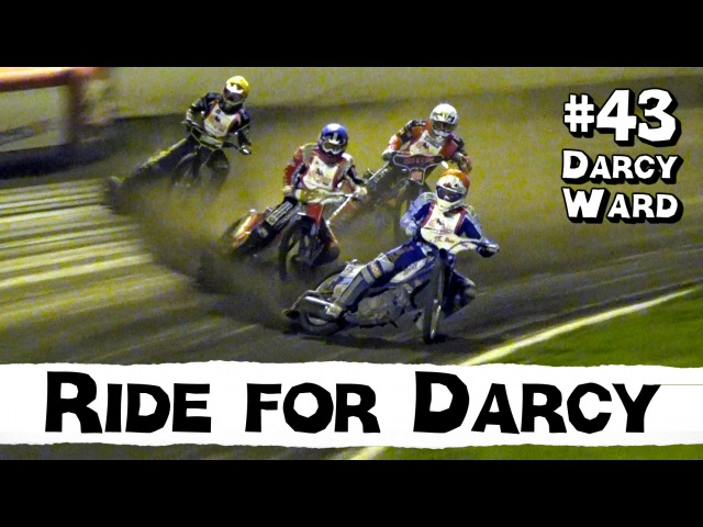 Speedway - Ride for Darcy Ward i Motala 18 September 2015. Alla heat!