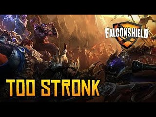 Falconshield - Too Stronk feat. Rawb Captain Fluke (Original Song)