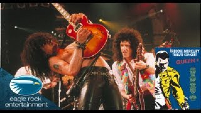 Queen Slash Joe Elliott Tie Your Mother Down The Freddie Mercury Tribute Concert