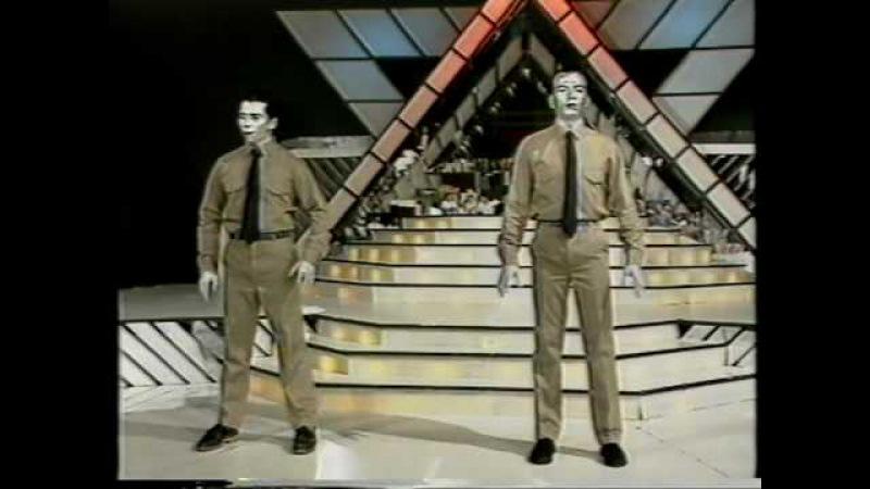 Los Robots Humanos | Boing Boom Tschak - Kraftwerk (1991, Telemanías, Cba, Argentina)