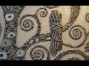 Мастер Класс Барельеф дерева Климта ЧАСТЬ 2 3 Роспись и инкрустация своими руками