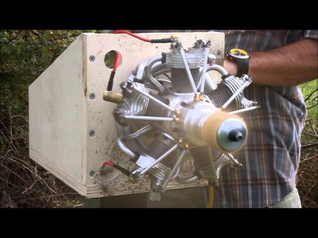 Radial engine \ Motore radiale 5 cilindri