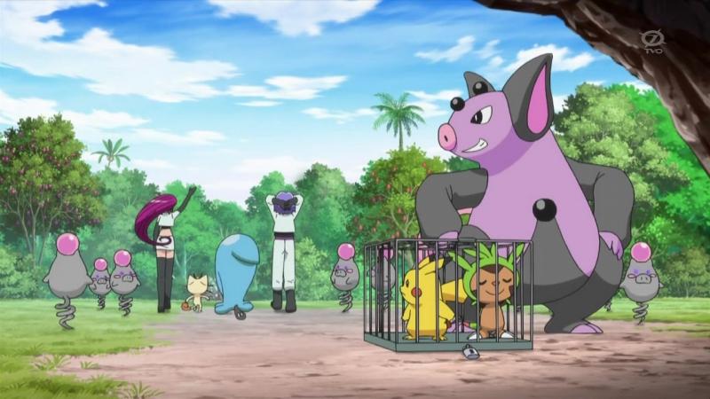 SDTV Pokémon saison 18 épisode 13 - Loasis de lespoir !