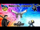 Deagle 3 kills 3 headshots CS GO