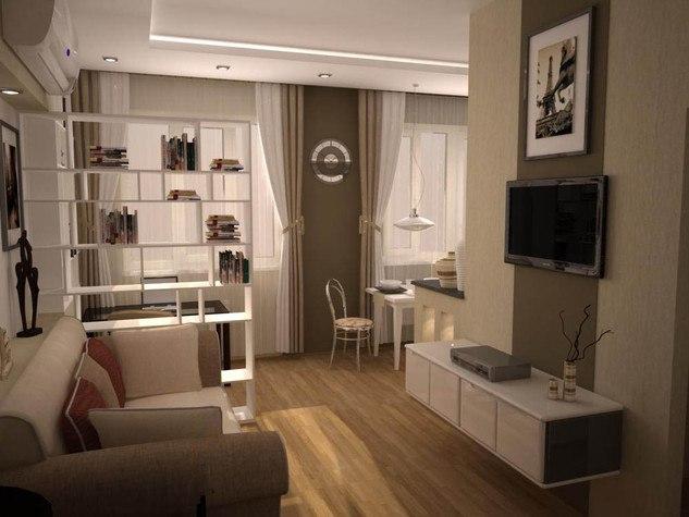 2 проекта квартиры 36 м.
