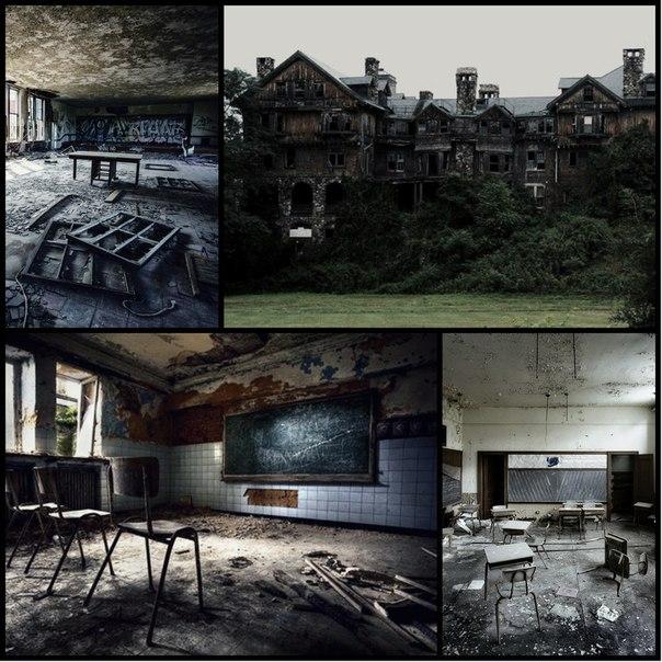 Заброшенная школа OX16Ke_pYIw