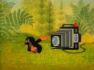 Крот-фотограф, эпизод 21 - 1975 г. (мультсериал, реж. Зденек Милер, Чехословакия 1957-2002 гг.) [SD480]
