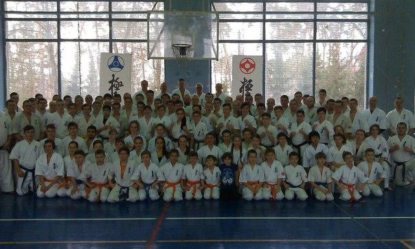 11-я Национальная школа Киокушин-кан карате-до  Украина г. Киев