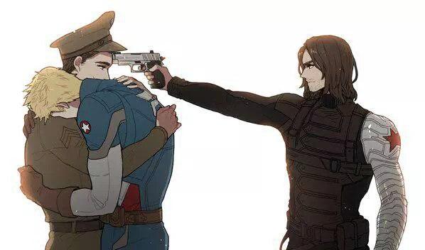 Смотреть онлайн рамлоу полюбил зимнего солдата слэш агентство