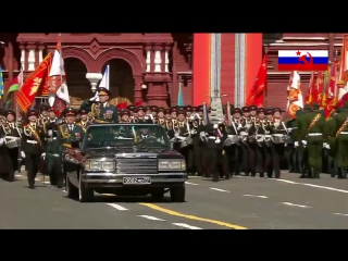 Парад Победы в Москве 2015 (Red Alert 3 Theme - Soviet March) - Victory Day parade in Moscow 2015