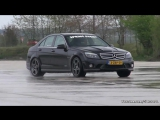 Mercedes-Benz C63 AMG, iPE Exhaust! автомобиль, машина, тачка, суперкар, спорткар, Мерседес-Бенц, звук двигателя,дрифт,drift