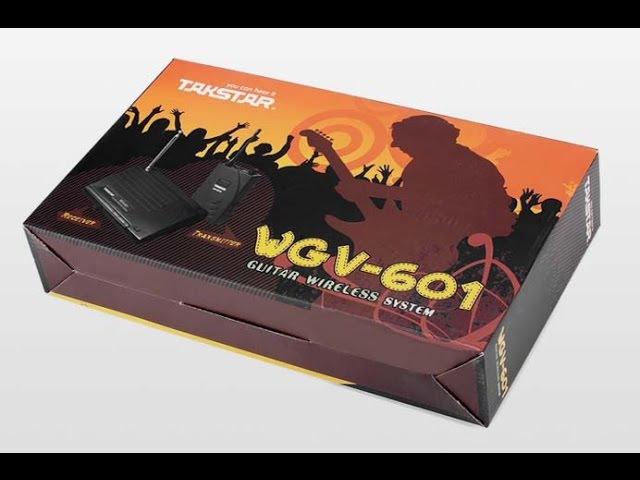 Гитарная радиосистема Takstar WGV-601 обзор