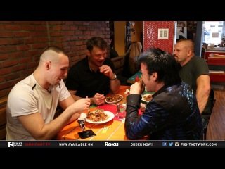 armBAR: Chuck Liddell, Forrest Griffin & Rory MacDonald - Who Makes the Best Poutine?