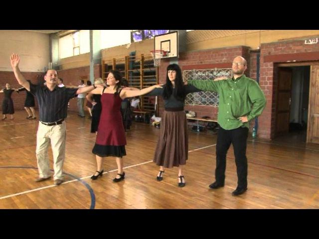 Урок еврейских танцев. Yiddish Summer Weimar