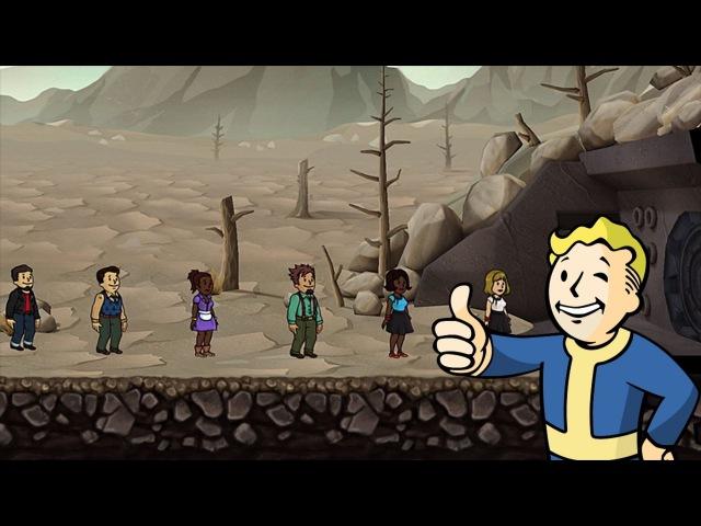 [Обновление] Fallout Shelter - Геймплей | Трейлер