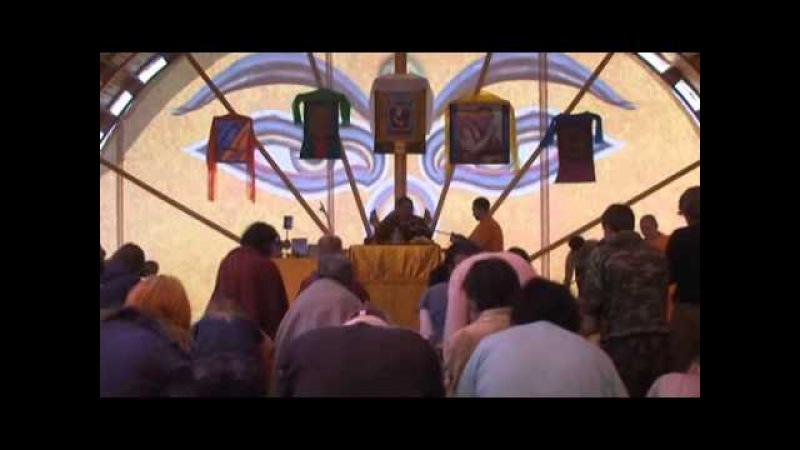 Геше Джампа Тинлей. Комментарий на Ламрим том 1. Гремячинск 2008. Благословение Манджушри.