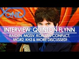 The Codec - Quinton Flynn Interview Raiden, MGSV, Konami Conflict, MGR2, KH3, &amp More Discussed!
