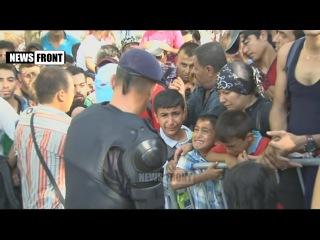 Критическая ситуация в хорватском городе Товарник - за сутки прибыли тысячи беженцев