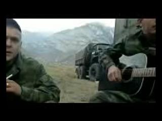 песня под гитару-u0027-u0027Зеленые глаза-u0027-u0027 наши ребята в Чечне 144