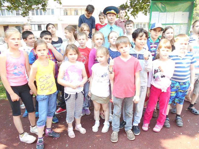 Встреча сотрудников 1 РОНД Управления по ЮВАО с детьми