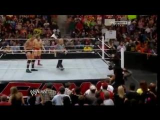WWE RAW - Randy Orton vs. Roman Reigns ALL RKO - THE BEST SmackDown