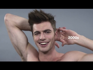 Эволюция мужской красоты за столетие,эволюция причесок,эволюция моды