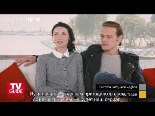 [RUS SUB] SDCC_2015 - Сэм и Катрина участвуют в опросе TV Guide