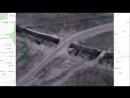 Авиаудар по складу с боеприпасами на дороге, соединяющей города ХАМА и АЛЕППО