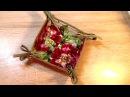 Хлебница из ткани для сервировки стола своими руками