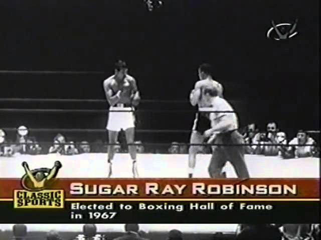 BOXING Sugar Ray Robinson VS Randy Turpin II