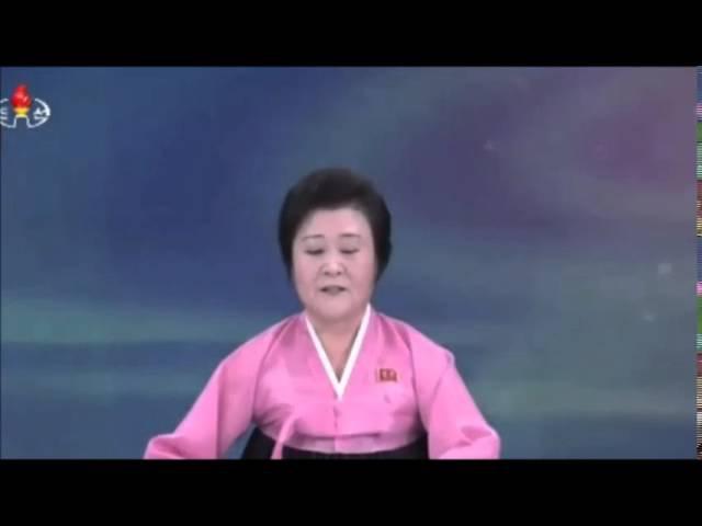 Ведущая телевидения КНДР с пафосом и улыбкой сообщила про взрыв водородной бомбы
