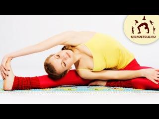 Растяжка для начинающих / Упражнения для ног и спины / Стретчинг