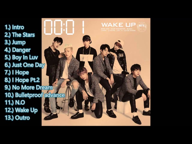 BTS - Wake Up [Japanese Album] [MEDIAFIRE Download Link]