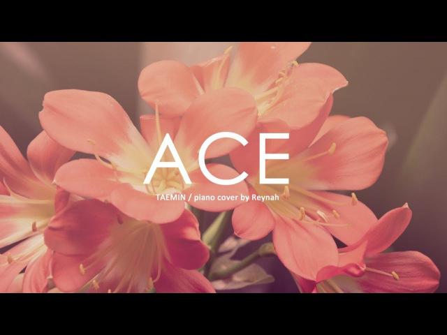 Ace Piano cover 피아노 커버 Full ver Taemin 태민