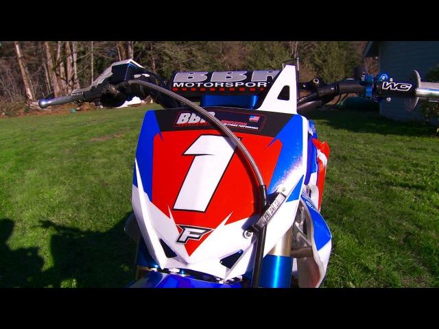 BBR Motorsports Perimeter framed Yamaha TTR150 Project
