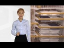 Системы ARISTO шкафы-купе, гардеробные, стеллажные, подвесные двери в типовой квартире.