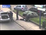 Появилось видео задержания участника брюссельских терактов