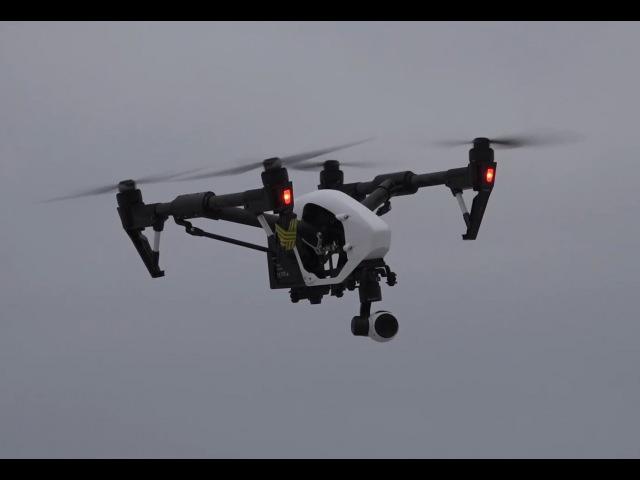 Квадрокоптер за 300 тысяч. ... DJI inspire 1 v2.0