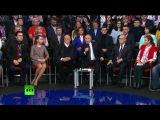 Владимир Путин принимает участие в третьем медиафоруме ОНФ