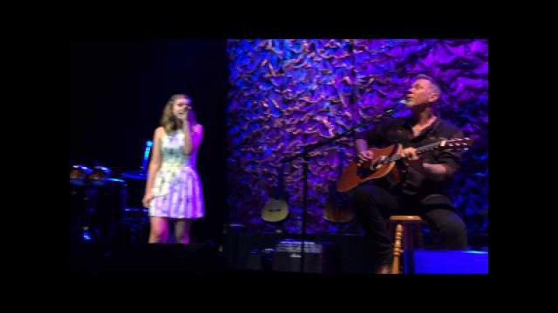 James Hetfield his daughter Cali - Acoustic-4-A-Cure (San Francisco 2015) Front Row
