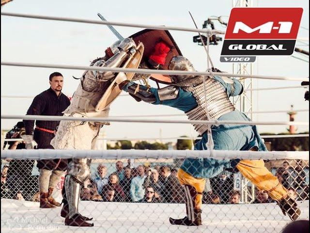 Бой рыцарей - Майкл Айви vs. Сергей Уколов | M-1 Challenge 50, , Битва на Неве