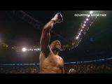Anthony Joshua KOs Charles Martin for IBF world heavyweight title